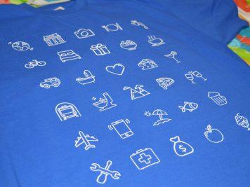 Тениска за пътешественици